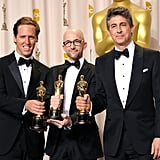 Nat Faxon, Jim Rash, and Alexander Payne