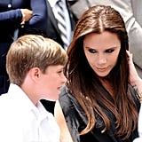 Victoria and Brooklyn Beckham's Cutest Pictures
