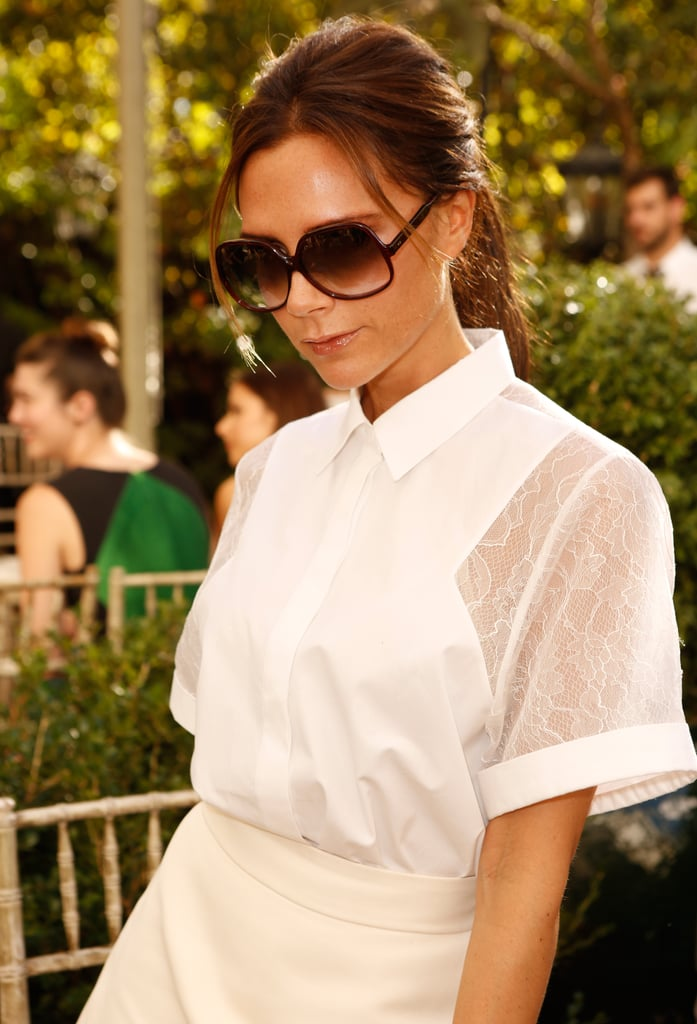 Among the Fashion Crowd in Her Own Design at the CFDA Fashion Fund Event