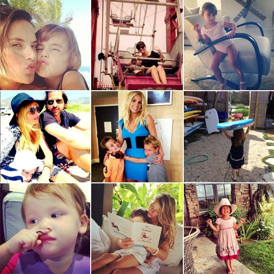 Celebrity Moms' Instagram Pictures Week of July 28, 2013