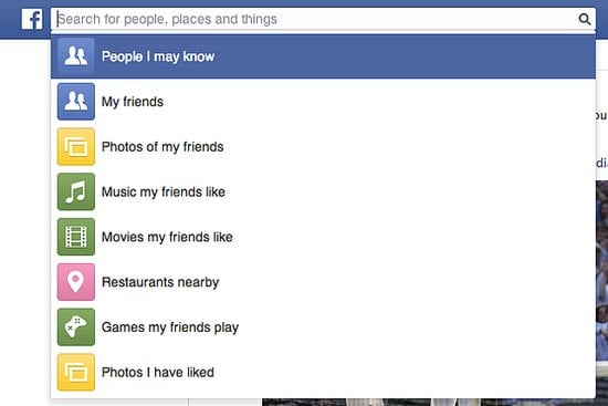 Use Facebook Graph Search to Get Specific