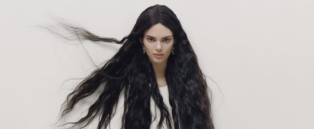 Kendall Jenner's Long Hair Extensions in Garage Magazine