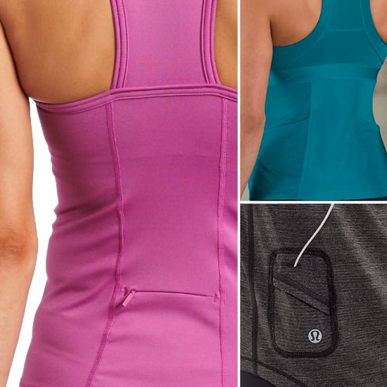Fitness Tops With Hidden Pockets