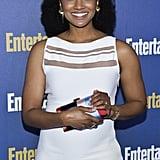 Mekia Cox at EW's 2020 SAG Awards Preparty