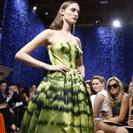 Christian Dior Couture Fall 2012 Front Row