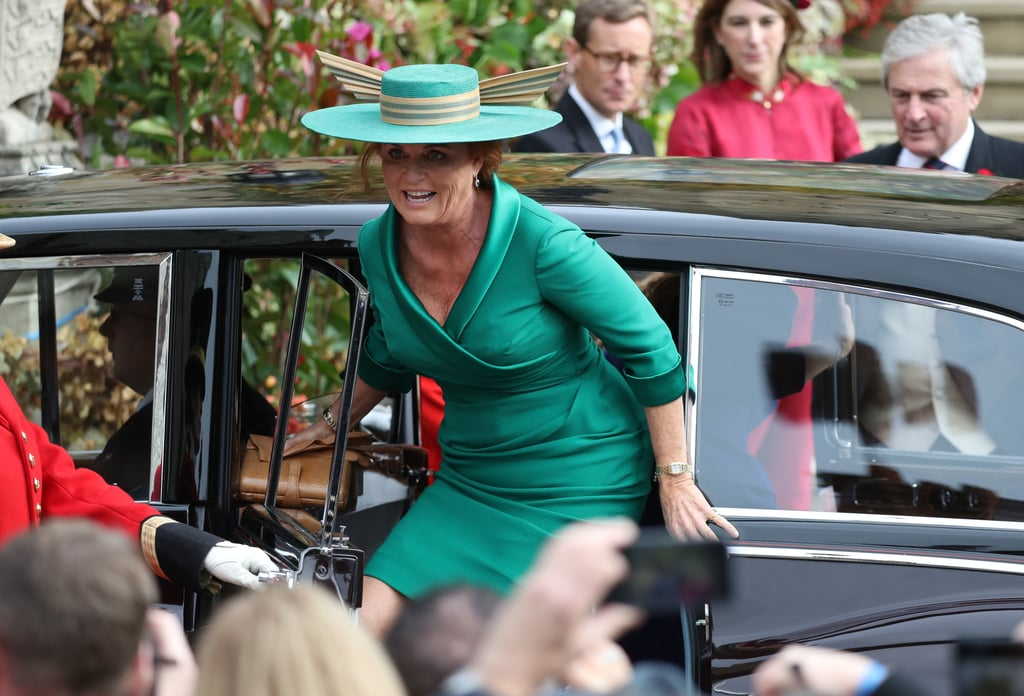 041c87aaea0 Sarah Ferguson Dress at Princess Eugenie s Wedding 2018