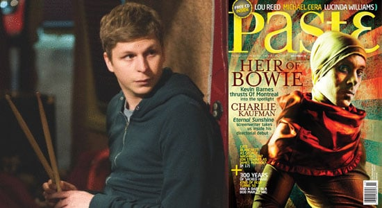 Excerpts Of Michael Cera's Paste Magazine Interview In Which He Discusses New Movie Nick and Norah's Infinite Playlist