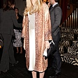 Lauren Santo Domingo took vintage inspiration for her dinner at Monkey Bar.