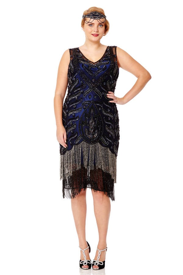GatsbyLady Hollywood Vintage Inspired Dress (£125)