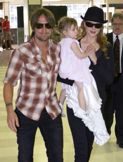 Nicole,Keith and Sunday Rose leaving Sydney after spending Christmas with their family