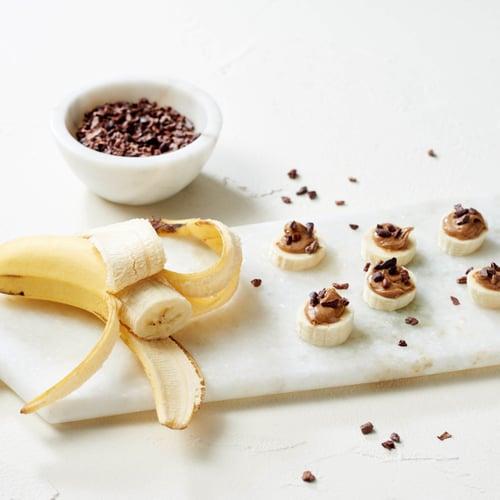 Snack: Loaded Banana Slices