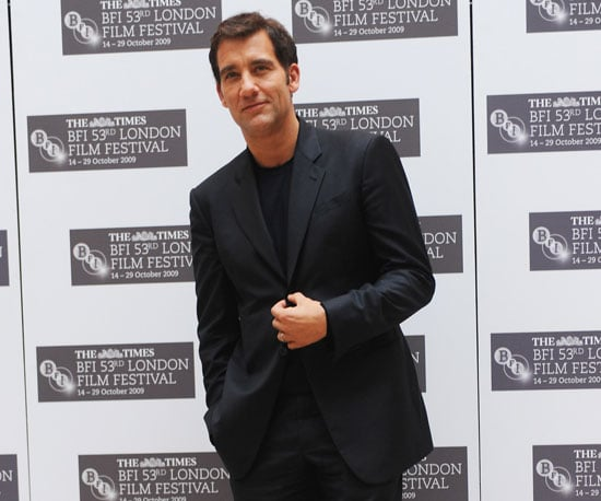 Slide Photo of Clive Owen at Press Conference for The Boys Are Back