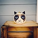 More Grumpy Cat Pumpkin