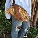 Etsy Straw Clutch