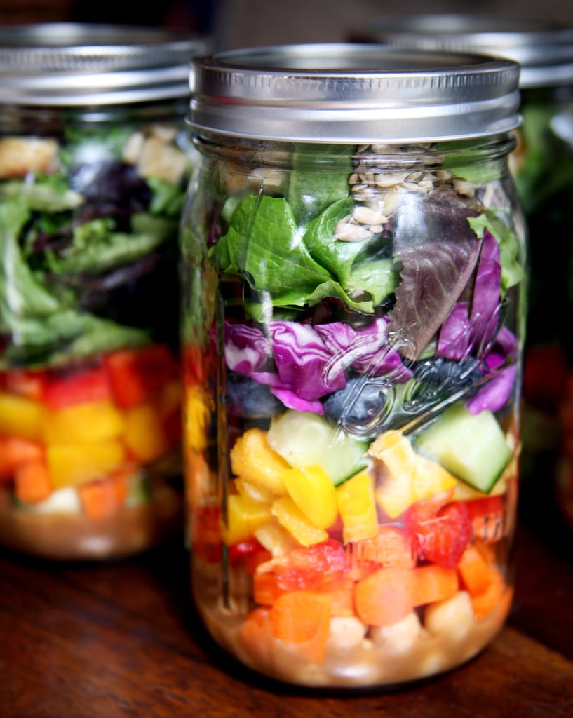Pack (Crisp) Salads For a Full Week