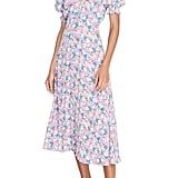 Faithfull the Brand Marie-Louise Midi Dress