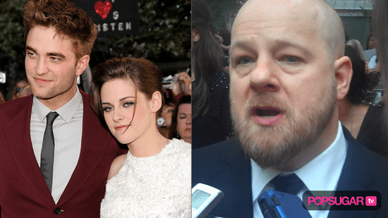Video of David Slade Confirming Robert Pattinson and Kristen Stewart Relationship