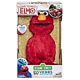 "For 3-Year-Olds: Sesame Street Love to Hug Elmo Talking, Singing, Hugging 14"" Plush Toy"