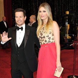 Rhea Durham Oscars 2011 With Mark Wahlberg