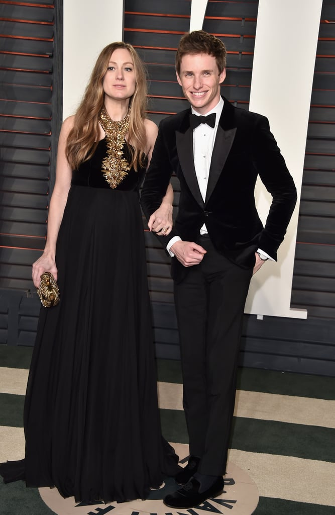 Pictured: Eddie Redmayne and Hannah Bagshawe