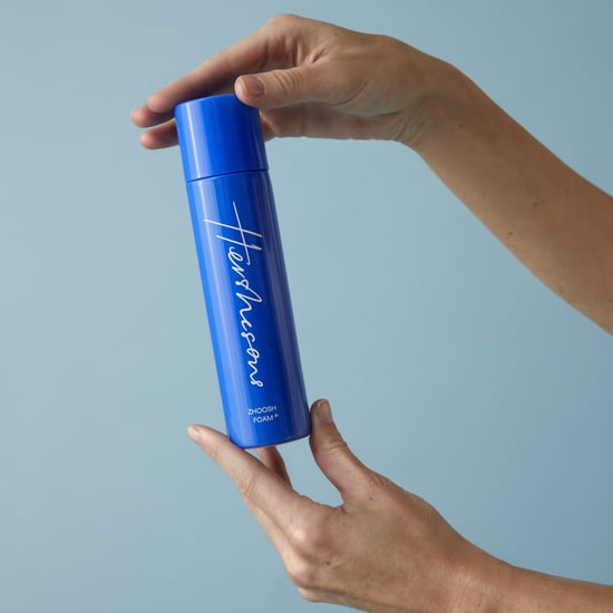 We Tested Hershesons Zhoosh Foam on Fine, Wavy Hair | Photos