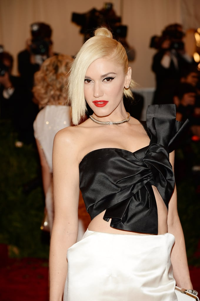 Gwen Stefania at the Met Gala 2013.