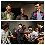 Don Cheadle joined his House of Lies costar Ben Schwartz on stage for improv. Source: Instagram user rejectedjokes