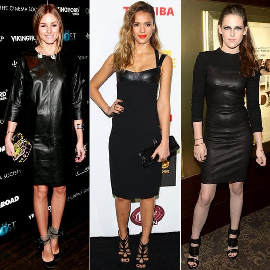 Hello, Leather: 23 Celebs Who Prefer a Much Edgier Kind of LBD