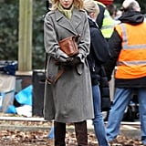 Nicole Kidman was seen for the first time working on her latest project, Before I Go to Sleep, in the English countryside on Thursday.