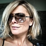 Natalie Bassingthwaighte showed off her new 'do for 2015 just before New Year's Eve.
