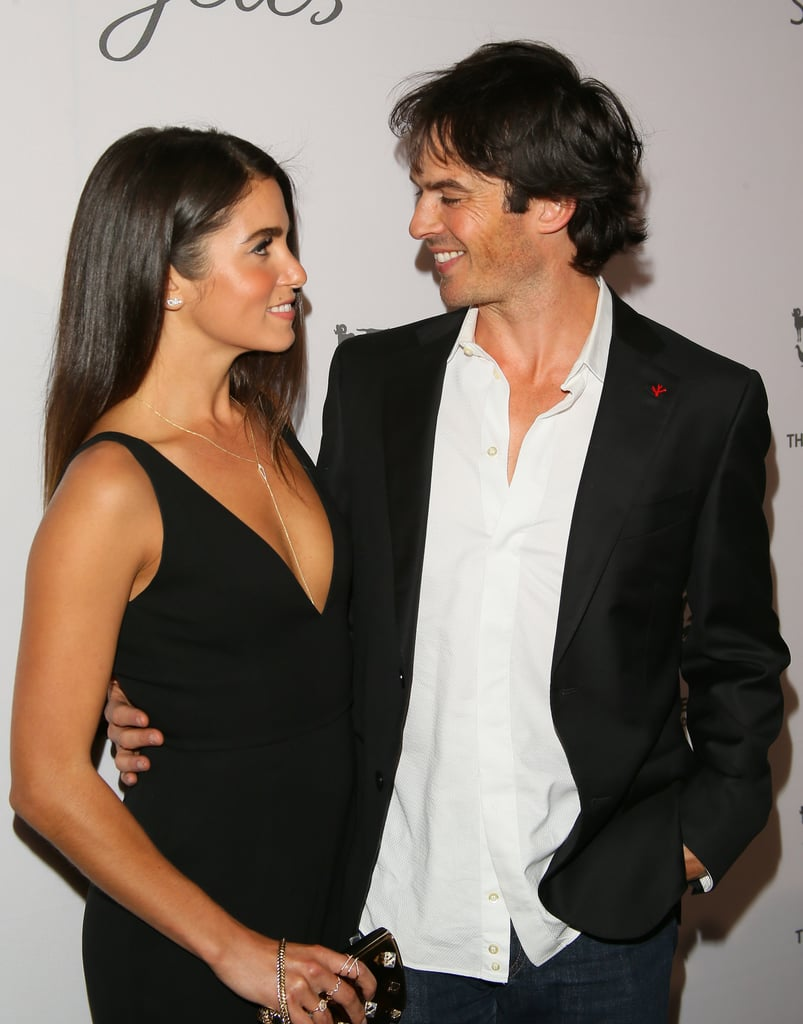 Ian and Nikki exchanged loving looks at the Humane Society's Rescue Gala in May 2016.