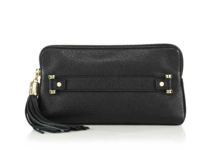 Milly Astor Leather Clutch ($195)