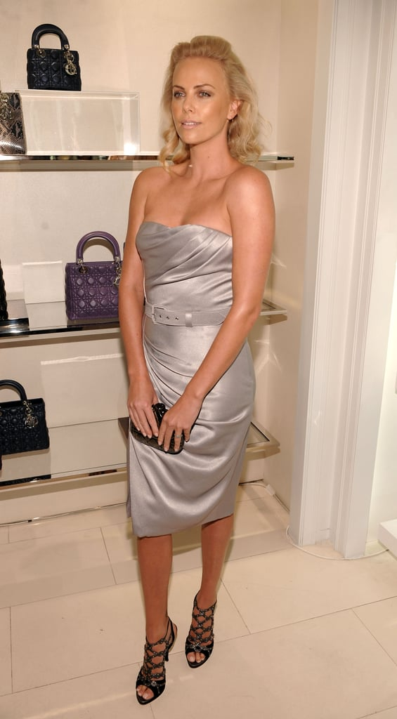Charlize in Dior