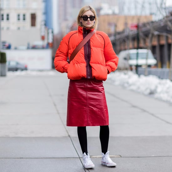 Street Style Icons Show Off Their Cute Puffer Pairings