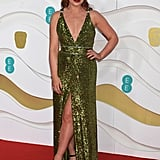 Arielle Free at the 2020 BAFTAs in London