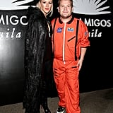 Julia Carey and James Corden as a Vampire and an Astronaut