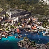 Overview of Treasure Cove Rendering