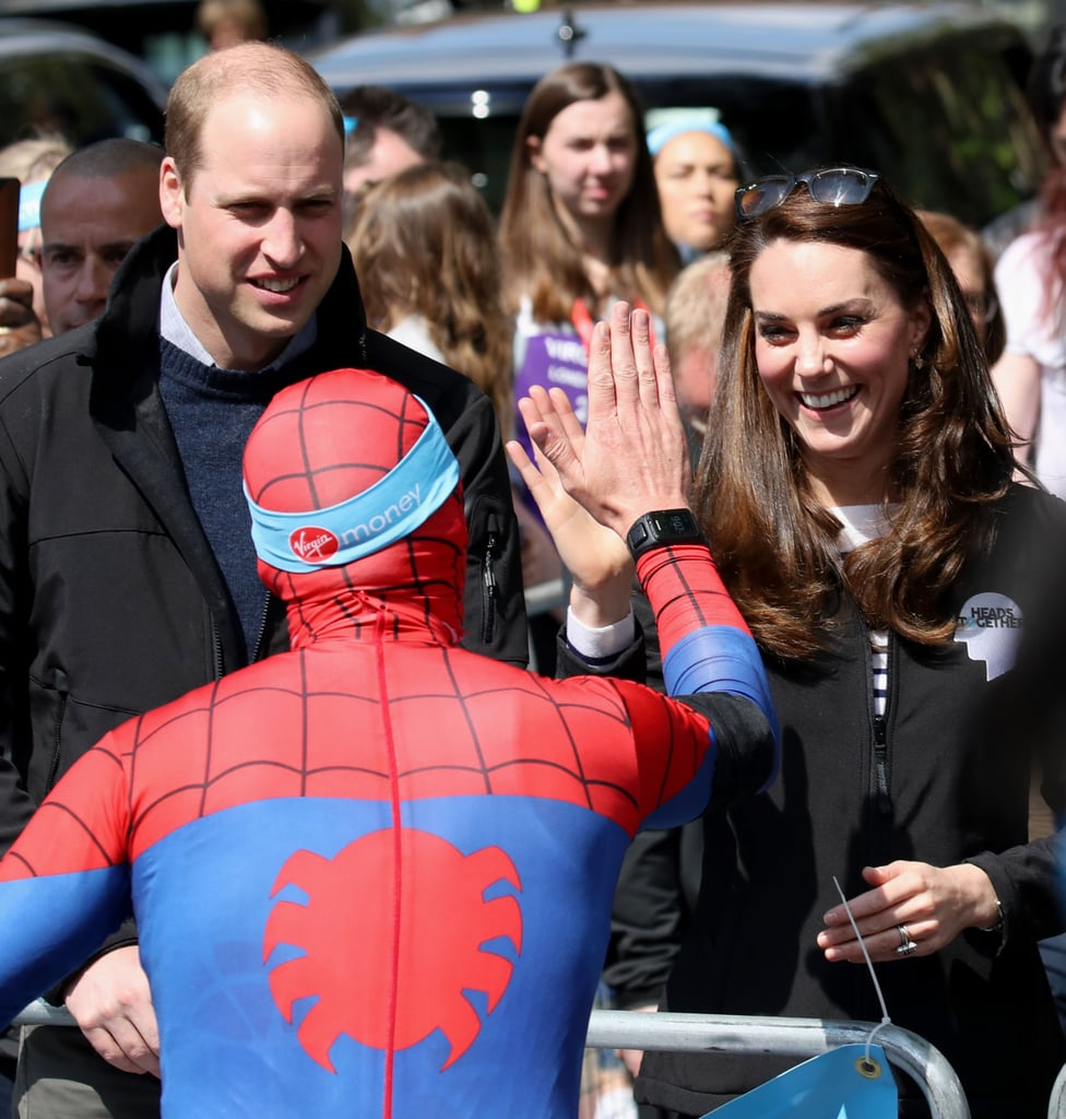 They Gave Spiderman a High Five