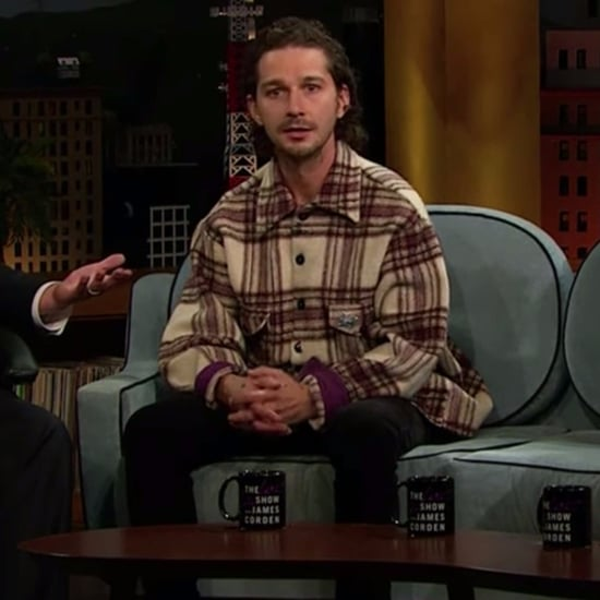 Shia LaBeouf on The Late Late Show October 2016