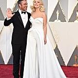 Lady Gaga at the Oscars 2016