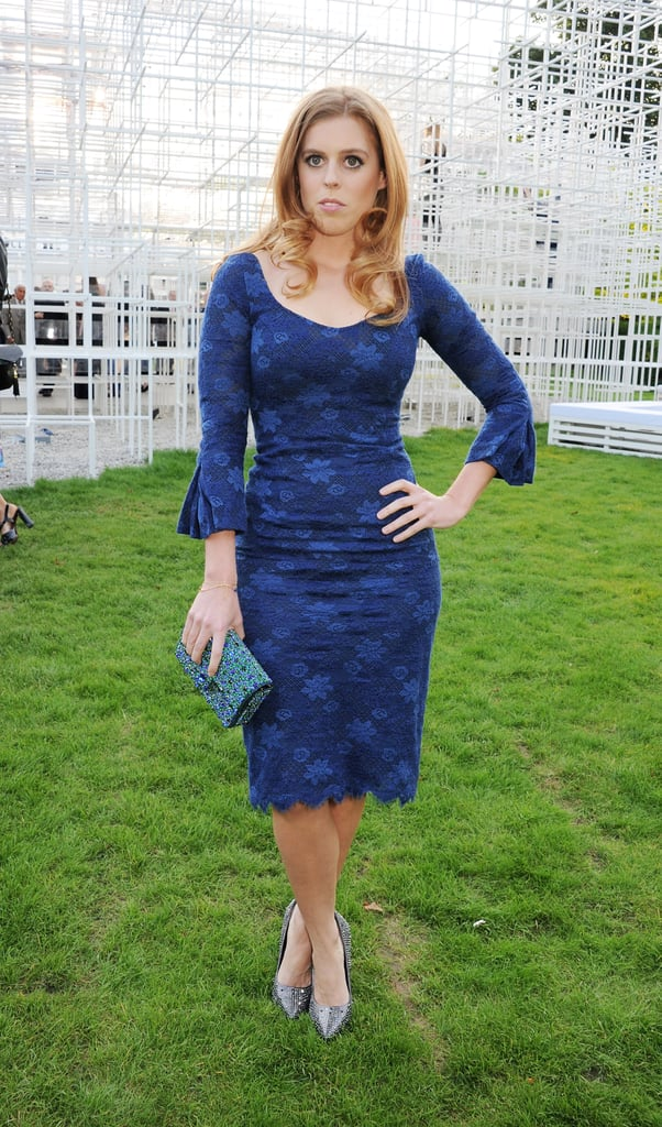 Princess Beatrice of York was in attendance at the annual party.