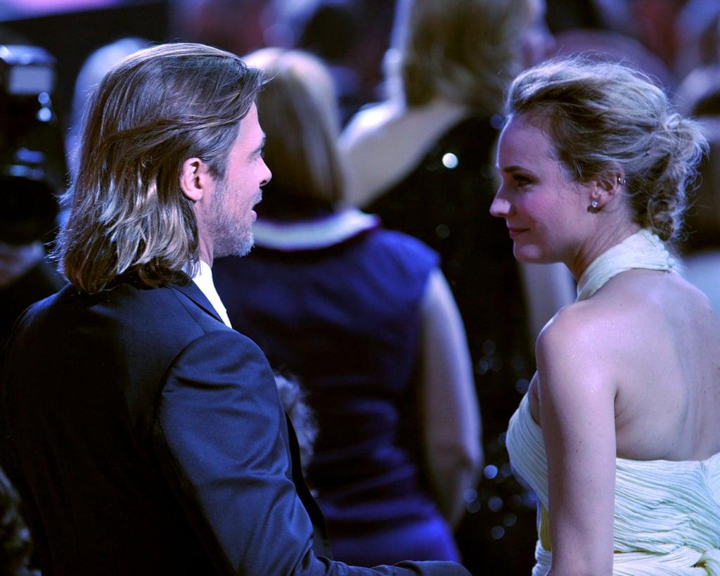 Brad Pitt and Diane Kruger