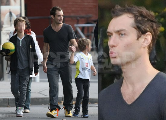 Photos of Jude Law With His Children