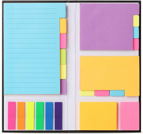 For Reminders and Active Note-Taking: Mr. Pen- Sticky Notes Set
