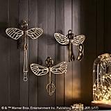 Flying Key Jewelry Hooks, Set of 3 ($89)