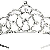 Mikey Bridal Large Crystal Tiara (£40)