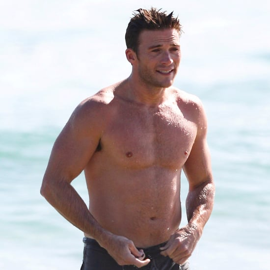 Scott Eastwood Shirtless in Australia November 2016