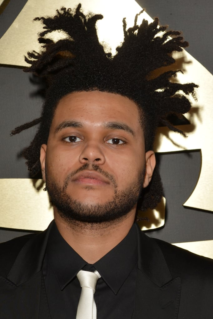 The Weeknd's Locs Ponytail In 2014