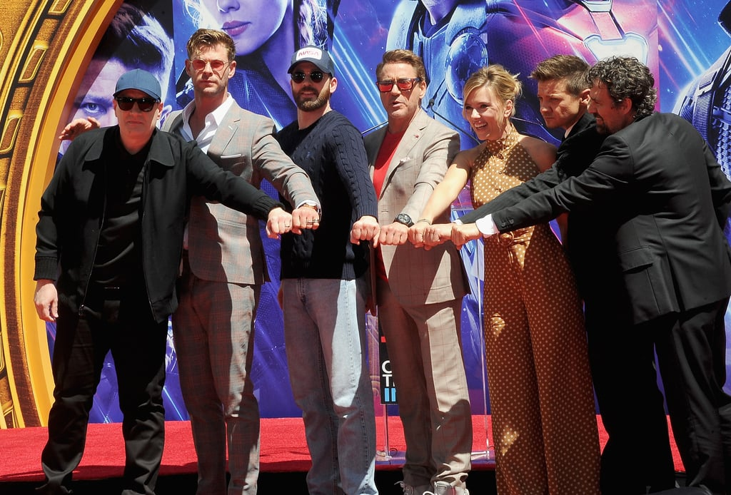 Avengers Endgame Press Tour Pictures Popsugar Celebrity