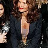 Helena Christensen checked out Edun.